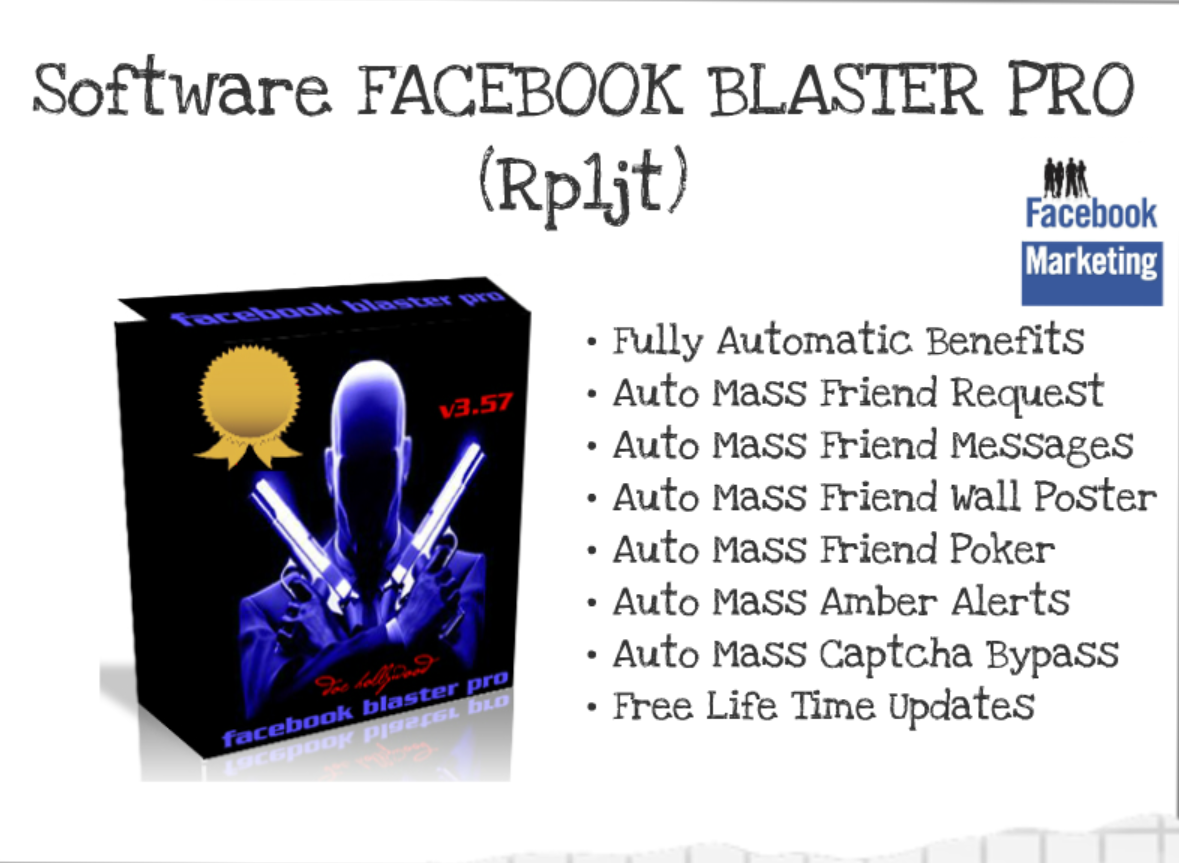 #4: FB Blaster Pro Software Untuk Traffic